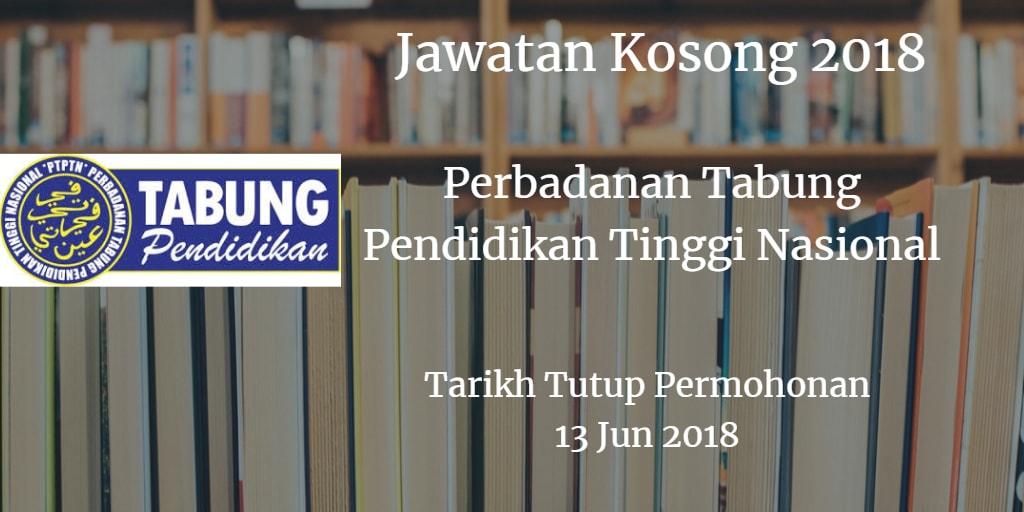 Jawatan Kosong PTPTN 13 Jun 2018