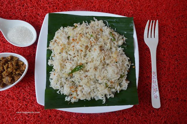 Thengai Sevai Recipe | Coconut Sevai | Coconut rice noodules