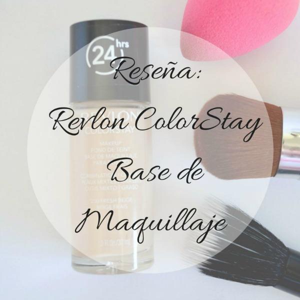 revlon color stay piel grasa base de maquillaje economica