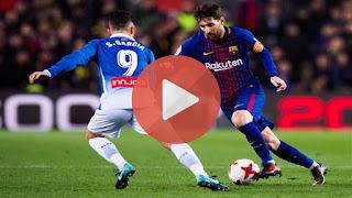 كورة لايف موعد وتشكيل مباراة برشلونة واسبانيول اليوم 8-12-2018