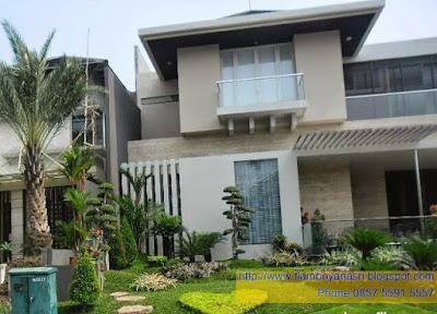 Tukang Taman Surabaya Desain Mewah