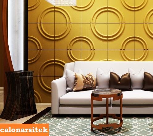 Gambar Motif Keramik Untuk Dinding Ruang Tamu Minimalis Terbaru