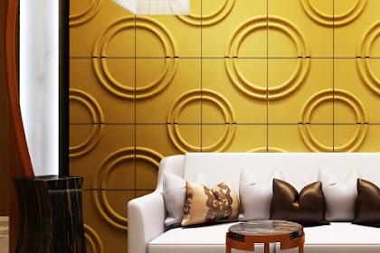 √ 32 Motif Keramik Dinding Ruang Tamu Yang Minimalis Terbaru