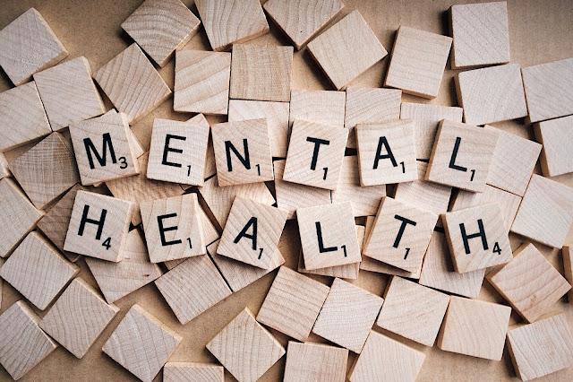 Mental Health on Scrabble Tiles