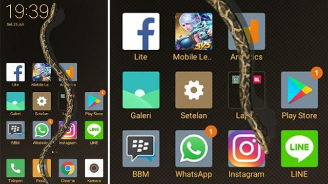 TERNYATA BEGINI...Cara Menampilkan Ular di Layar Smartphone