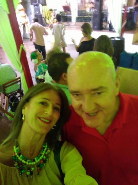 IX Reunión Playamar 80, Nuria y Tiech en la Fería de San Miguel 2017