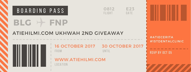2ND GIVEAWAY ATIEHILMI.COM ft 1ST DENTAL CLINIC