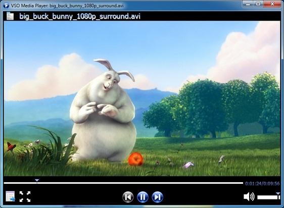 تحميل برنامج Vso Media Player مشغل الفيديو و الصوت