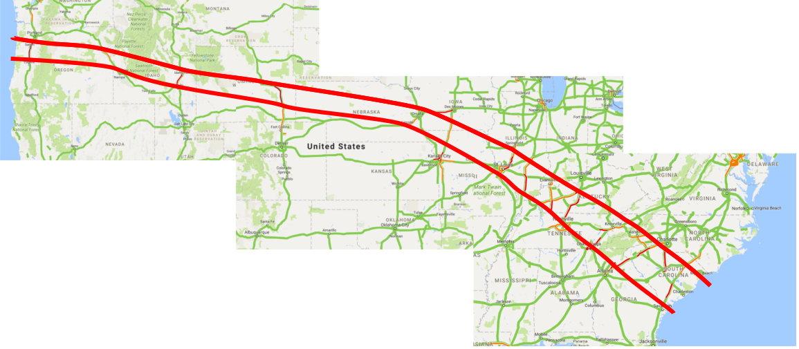 The Zehnkatzen Times Maps Google Maps Traffic Records The Eclipse