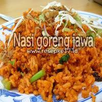 nasi goreng jawa tengah