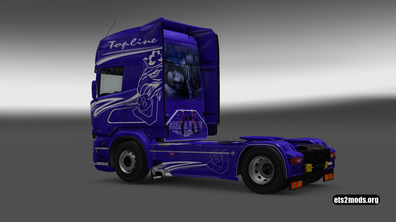 Flyer Skin for Scania RJL