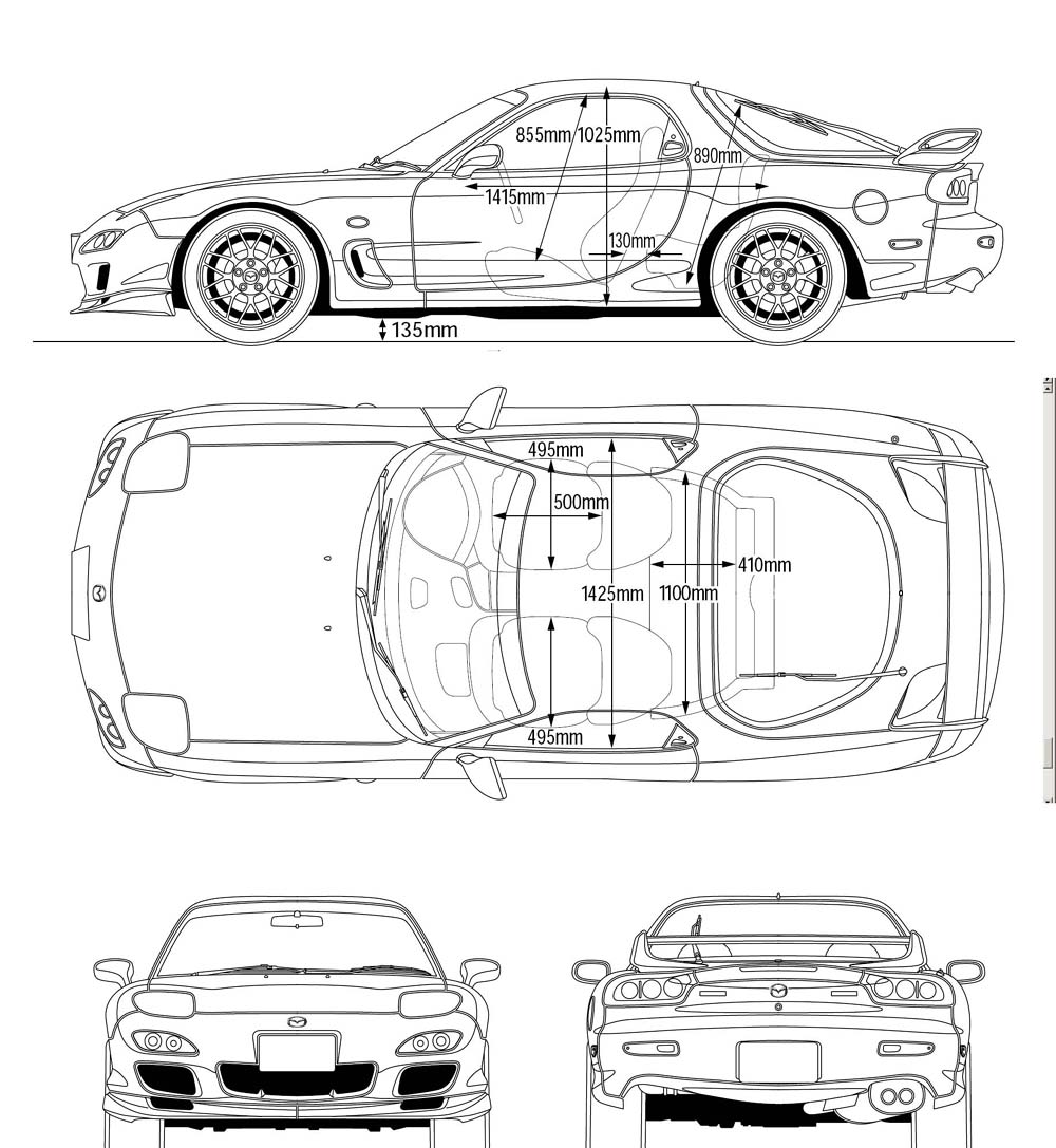 WOLF CARS: Mazda RX-7 Type A Spirit R (FD-3S) '2002