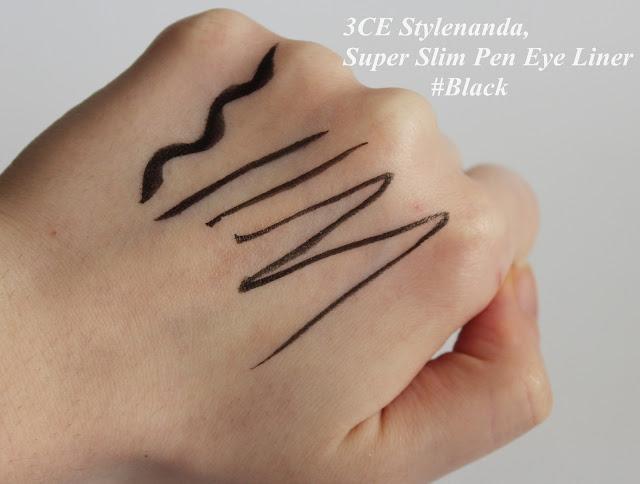 3CE Stylenanda, Super Slim Pen Eye Liner #Black