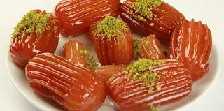 Tulumba Dessert (Tulumba Tatlisi)