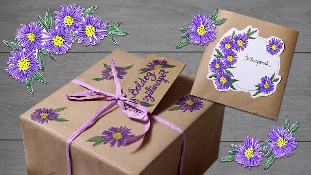 Szülinapi ajándék csomagolás ötlet ötletek nőknek lányoknak