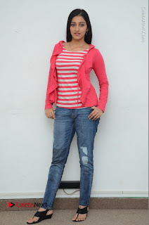Telugu Actress Mouryani Latest Pos in Blue Denim Jeans  0225.JPG