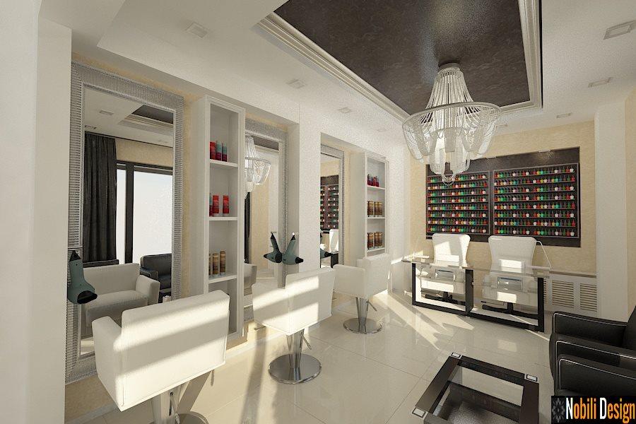 Design interior salon de infrumusetare  cosmetica Bacau - Amenajare coafor frizerie Bacau, Adjud, Roman