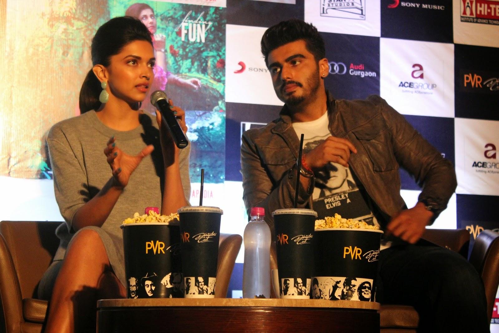 Finding Fanny':Deepika and Arjuna exposing new chemistry