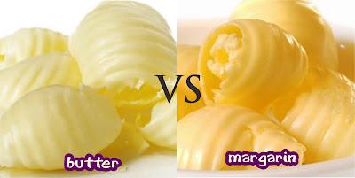 Perbedaan Mentega Margarin dan Butter