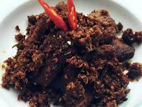 Resep Masakan Enak Serundeng Rendang Khas Padang