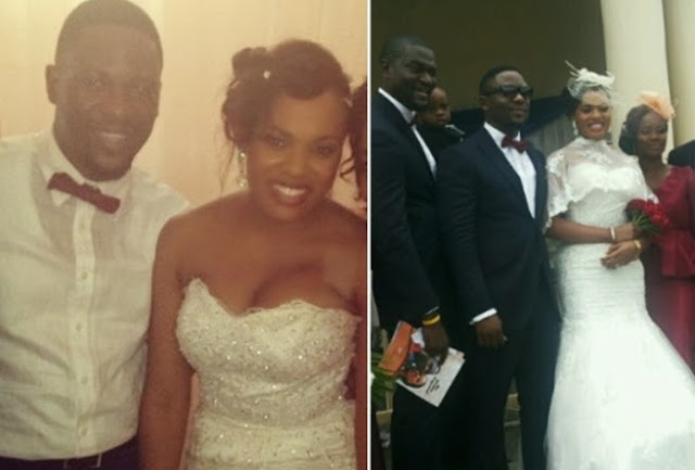 matilda obaseki wedding photos