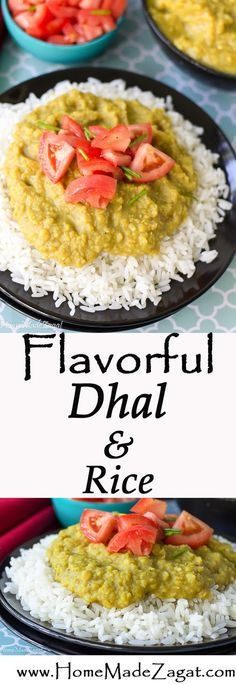 Dhal and Rice Recipe