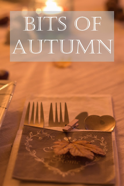 fall table deco