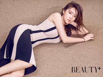 Hyomin T-ara Beauty Plus March 2016