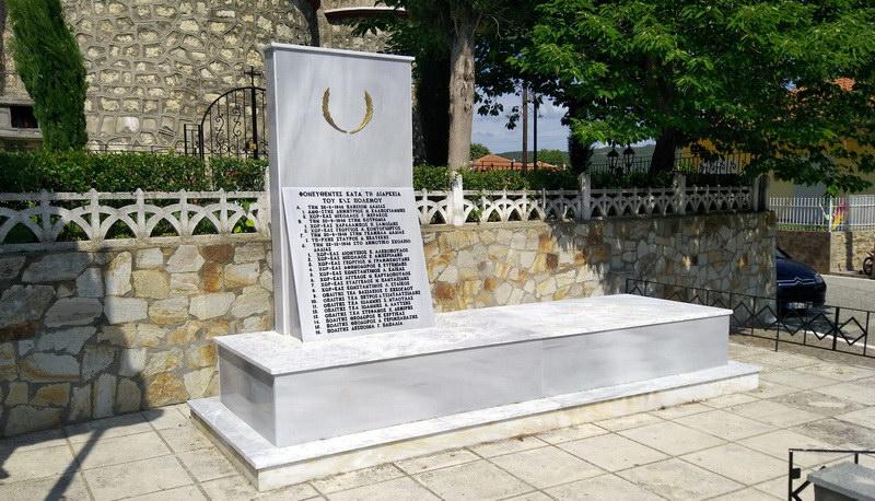 Με πρωτοβουλία πολιτών και αστυνομικών ανακαινίστηκε το Μνημείο της Δαδιάς