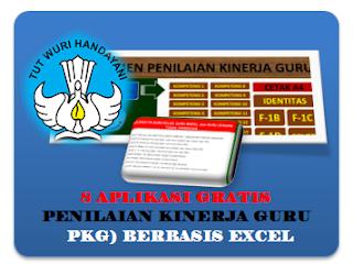 Aplikasi Gratis Penilaian Kinerja Guru (PKG) berbasis Excel