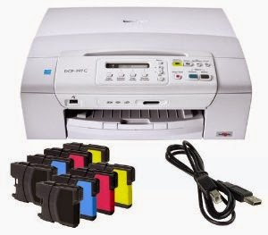 Print character is truly amend than you lot mightiness facial expression together with the DCP Download Brother DCP-197C Printer Driver