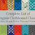 Complete List of Penguin Clothbound Classics