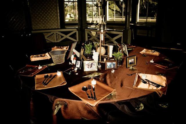 steampunk wedding, steampunk bride and groom, louise black corset, retroscope fashion, kempner park galveston, garten verein, galveston, wedding, steampunk wedding reception, steampunk wedding decor, victorian garden club, victorian gazebo