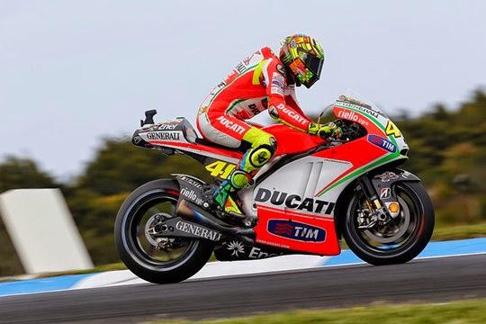 Ducati berpeluang  grejokin  Yamaha dan Honda di ajang MotoGp 2015