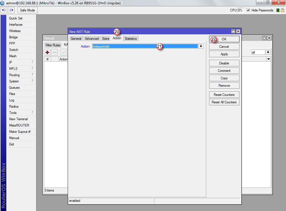 Mikrotik vpn server configuration