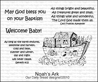"Our Daily Bread designs ""Noah's Ark"""