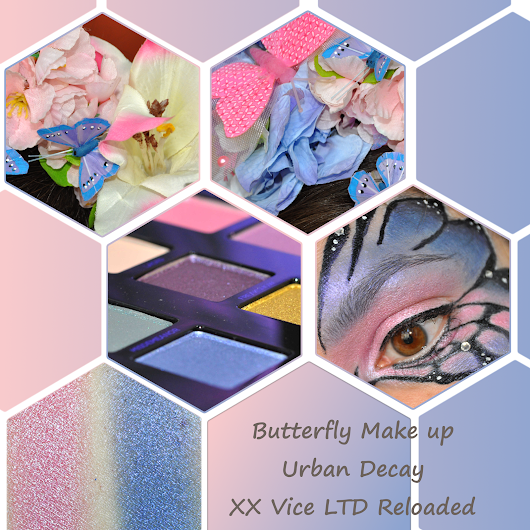 [geschminkt] Urban Decay - XX Vice LTD Reloaded - Butterfly Make up
