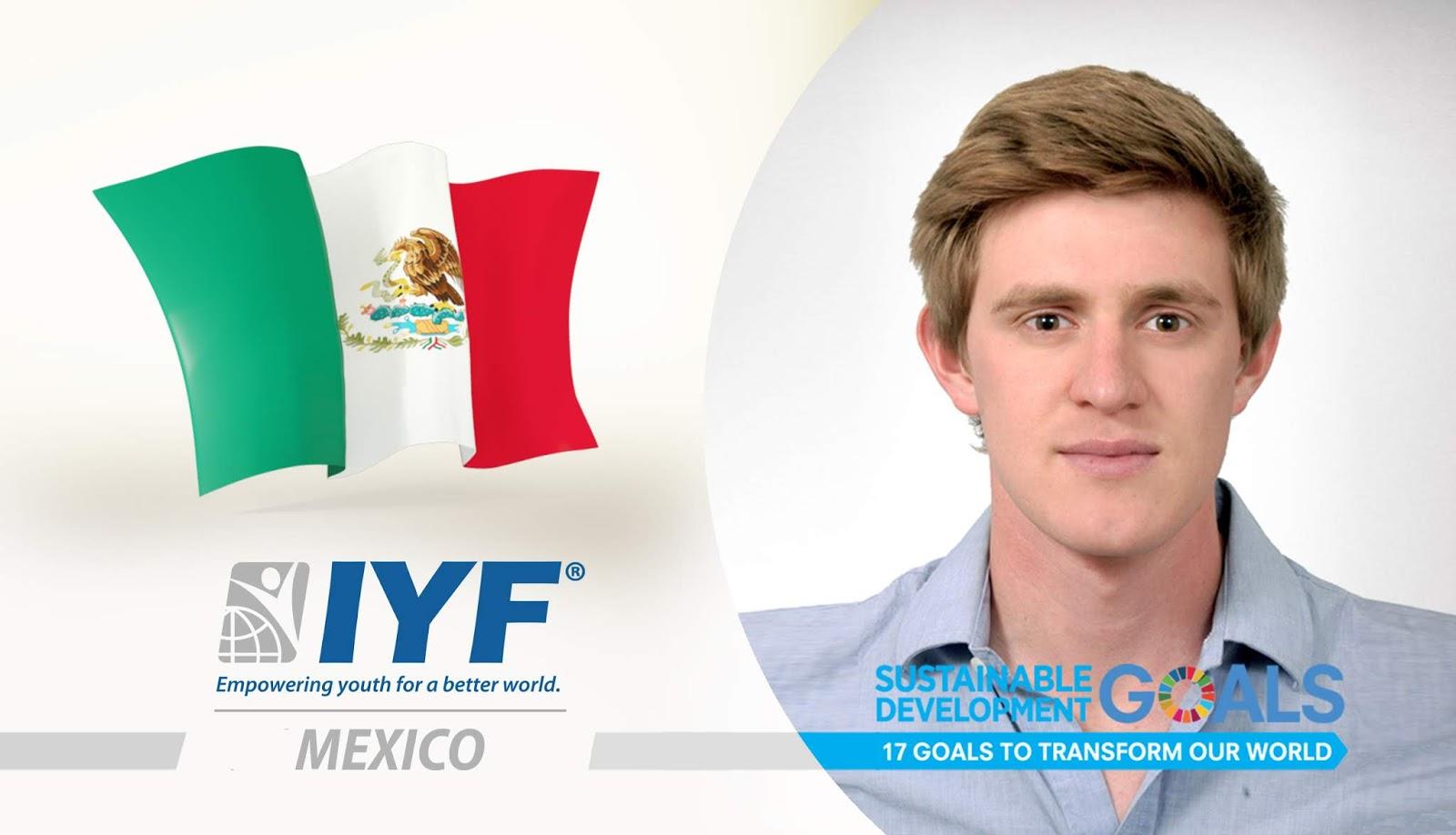 Anastacios Psaltidis, IYF Representative in Mexico
