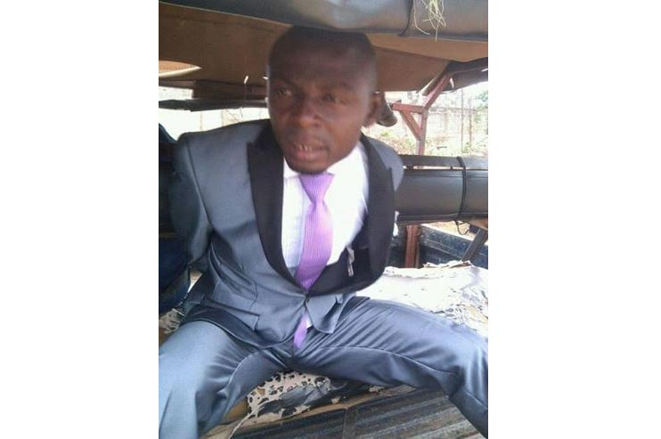 Photos: Police Arrests Suspected Armed Robber On His Wedding Day, Bride Slumps