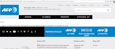 La AFP, intoxicada por los marroquíes