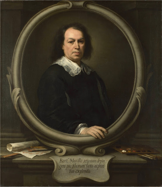 Bartolomé Esteban Murillo, Self Portrait, Portraits of Painters, Fine arts, Murillo