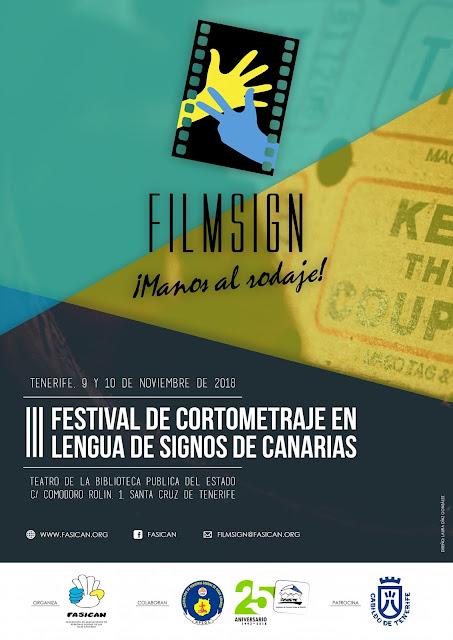 III Festival de Cortometrajes en Lengua de Signos de Canarias