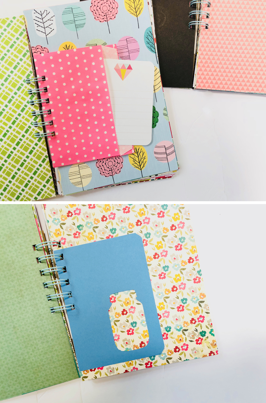 #30lists #30 Days of Lists #mini album #mini book #journal #listing challenge #list journal