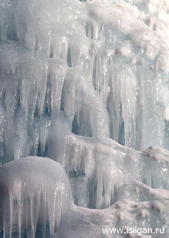 """Ледяной фонтан 2019. Национальный парк """"Зюраткуль"""". Челябинская область"""
