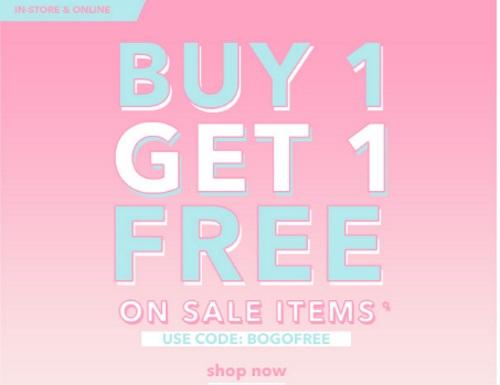 Forever 21 BOGO Buy 1 Get 1 Free Promo Code
