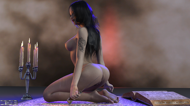 3Dart, Daz Studio, Daz 3D, Nude Art, Nudity, Nu, Nudité, Digital Art