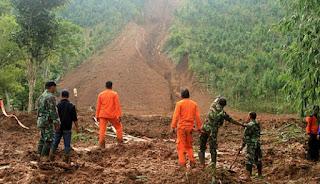 Pencarian Dan Evakuasi Korban Longsor Brebes Akan Terus Dilakukan  Tim SAR Gabungan