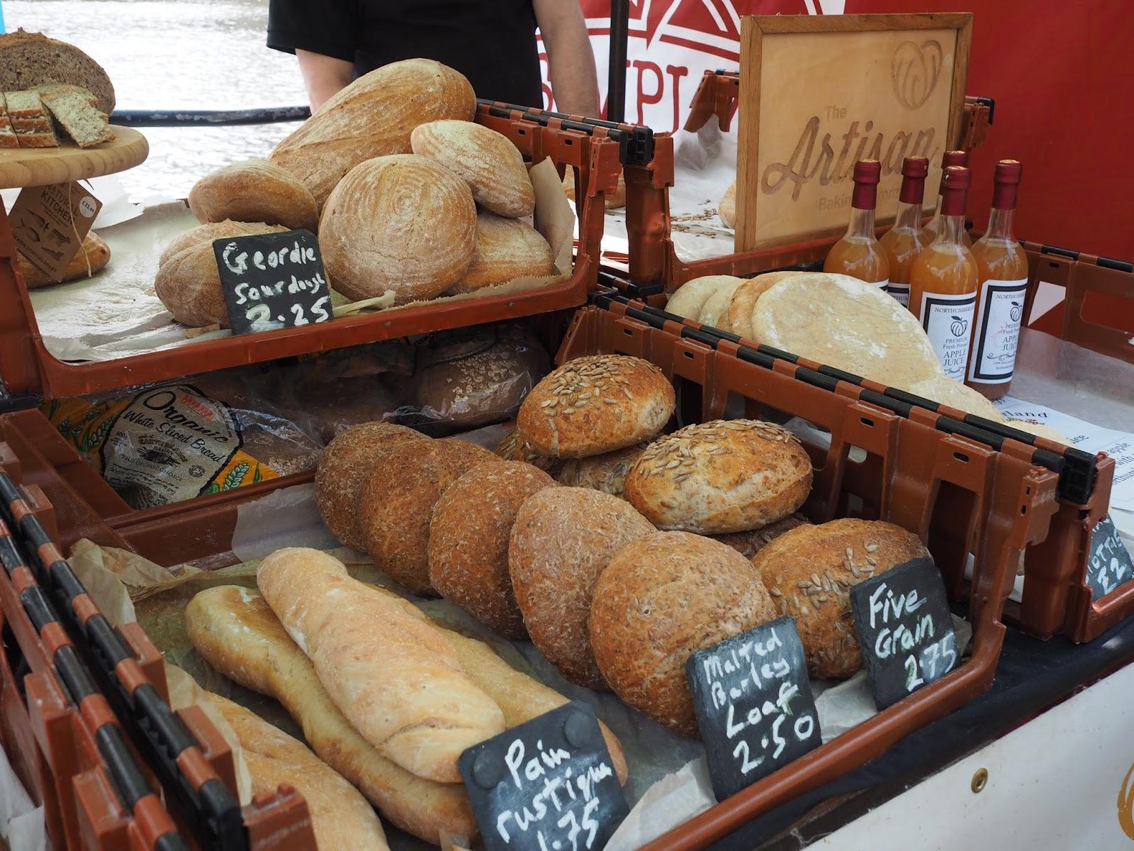 artisan bread newcastle quayside street food market