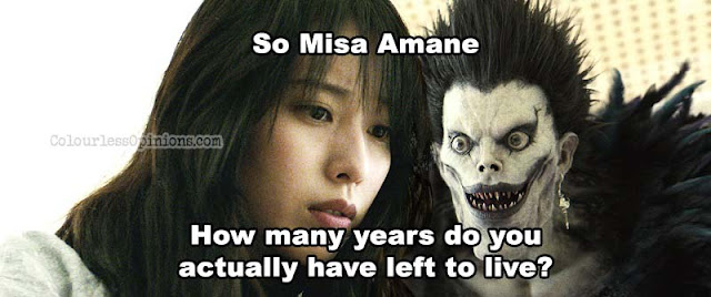 misa amane meme Ryuk Death Note Light Up The New World