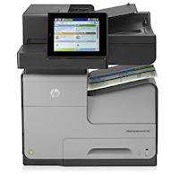 HP OfficeJet Managed Color MFP X585 Télécharger Pilote